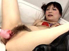 Crazy pornstar Rika Sonohara in Fabulous Fingering, Dildos/Toys sex video