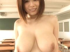 Best Japanese model Aika Suzuki in Incredible big natural tits, big tits JAV movie
