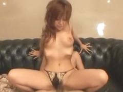 Horny Japanese slut Nanami Takase in Amazing Panties JAV scene