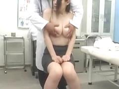 Crazy Japanese model Ami Morikawa in Amazing Hidden Cams, Medical JAV movie
