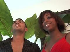 Horny pornstars Nyomi Marcela, Sabrine Maui and Dragon Lilly in exotic tattoos, blowjob xxx movie