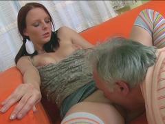 Fabulous pornstar in Best Oldie, Redhead xxx video