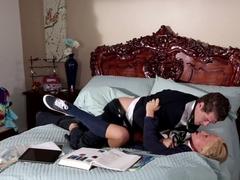 Incredible pornstars Katerina Kay, Xander Corvus in Horny Big Ass, Blonde sex scene