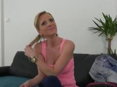 Exotic pornstar in Horny European, Masturbation sex clip