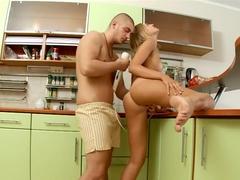 Incredible pornstar in crazy creampie, college adult video