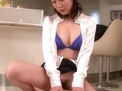 Hottest Japanese slut Hitomi Oki in Fabulous JAV uncensored MILFs scene