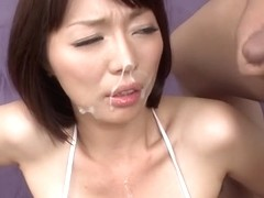 Exotic Japanese slut Izumi Manaka in Horny JAV uncensored MILFs clip