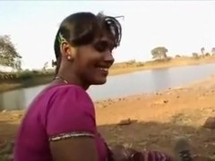 Desi indian blowjob hard outdoor with bf