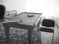 Pool room not so private after all