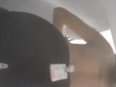 voyeur girl in dressing room