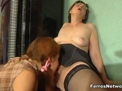 GirlsForMatures Scene: Leonora and Stephanie A