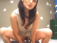 Crazy Japanese girl Risa Murakami in Hottest Lingerie, Blowjob JAV movie