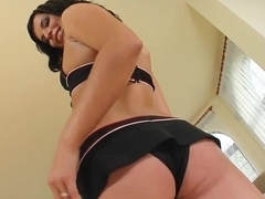 Cum For Cover Renata vaccuums up that cock and is hungry for more