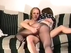 Our first sextape on the sofa