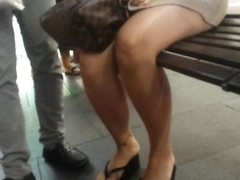 Bare Candid Legs - BCL#120