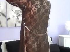 Webcam girl AllyRosse posing nude and fingering