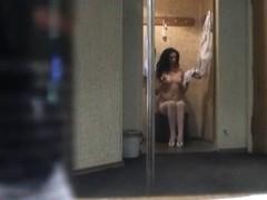 Hottest Amateur clip with Changing Room, Voyeur scenes