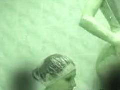 Hidden cam - two girls in shower01