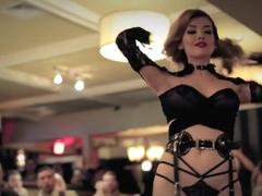Burlesque Strip SHOW 407 Miss Miranda Naked