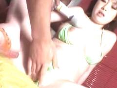 Fabulous Japanese chick Rio Hamasaki in Horny Big Tits, Panties JAV scene