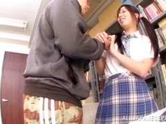 Asian schoolgirl Yuuki Itano gets deep penetrated