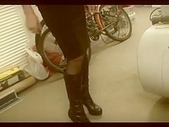 Non-Professional German Golden-Haired Woman Sextape 2