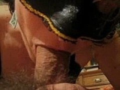 Masked Mature Italian Wife Blows