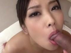 Exotic Japanese whore Saki Fujii in Horny JAV uncensored Blowjob clip