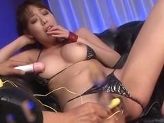 Amazing Japanese chick Akari Asagiri in Hottest JAV uncensored Dildos/Toys clip