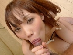 Exotic Japanese girl Ageha Kinashita in Horny JAV uncensored Handjobs clip