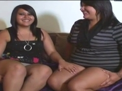 2 darksome lesbo in act