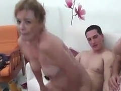 Spanish mother not her daughterand young couple
