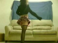 tight immature dancing