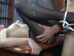 Anal-Pantyhose Video: Barbara and Nicholas