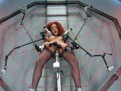 Fabulous fetish sex clip with horny pornstar Daisy Ducati from Fuckingmachines