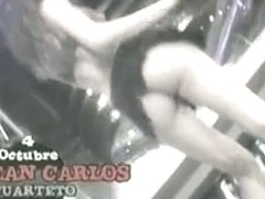 two dancers bare bums in upskirt sexy dance video