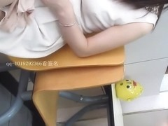 Chinese girl in white skirt voyeur part 3