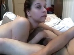 Fan1kXXX: girl couple fucks on the bed