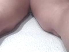caught my slut wife with masseur on hidden spycam