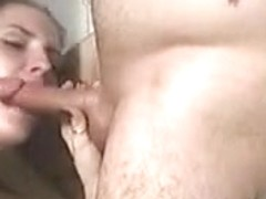 some cum in the shower