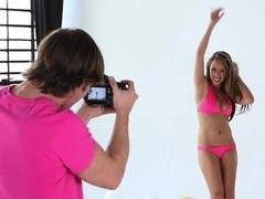 Exotic pornstar Ella Milano in Amazing Big Tits, Cunnilingus sex video