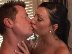 Horny pornstar Tiffany Brookes in Hottest Brunette, Cumshots sex movie