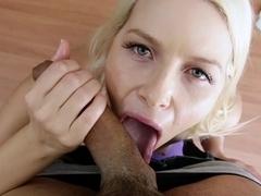 Incredible pornstar Anikka Albrite in Horny Facial, POV sex scene