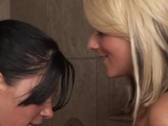 Amazing pornstars Rebeca Linares, Briana Blair in Hottest Lesbian, Massage adult video