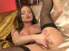 Exotic pornstar in Incredible Solo Girl, Redhead xxx video