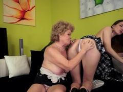 Hottest pornstar in Amazing Grannies, Brunette xxx scene