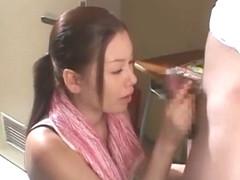Horny Japanese chick Saya Hazuki, Reiko Yamaguchi in Incredible Compilation, Big Tits JAV scene