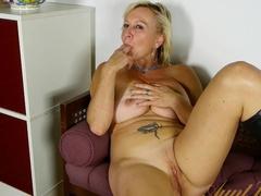 Horny pornstars in Fabulous Blonde, Big Ass sex scene