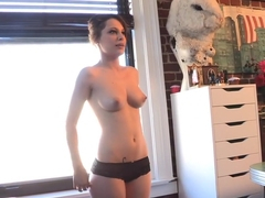 Crazy pornstar Tina Tyler in horny brunette, fetish xxx clip