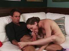 Fabulous pornstar Monica Rise in Best Foot Fetish, Blowjob xxx clip